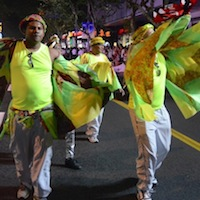 Elimu carnival band in Shanghai Night 5