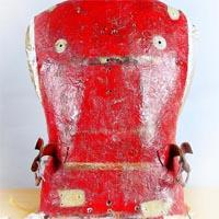 Red backplate.
