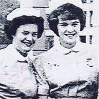 a press picture of two nurses